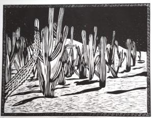 Linda Sugar Woodprint